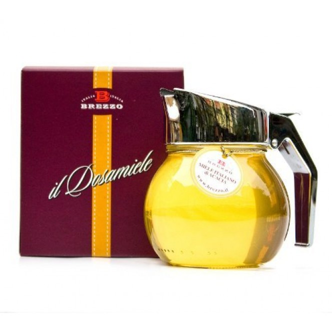 Dosamiele Raw Acacia Honey with Dispenser 400 Gr