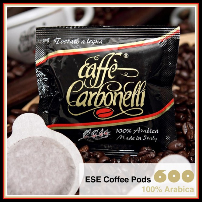 100% Arabica Wood Fire Roasted ESE Pods - 600 Units Deal