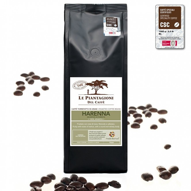 Wild Forest Coffee Beans Harenna 100% Arabica - Single Estate 500g