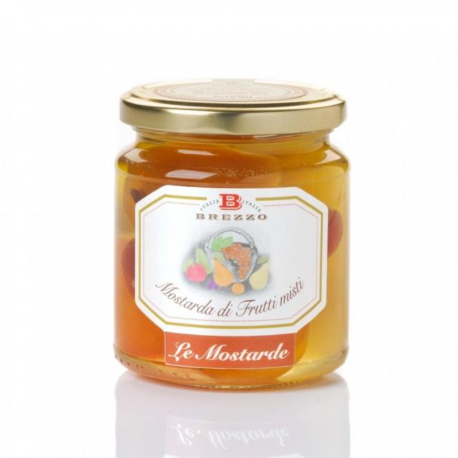 Italian Handmade Sweet and Sour Mustard (Mix Fruit)