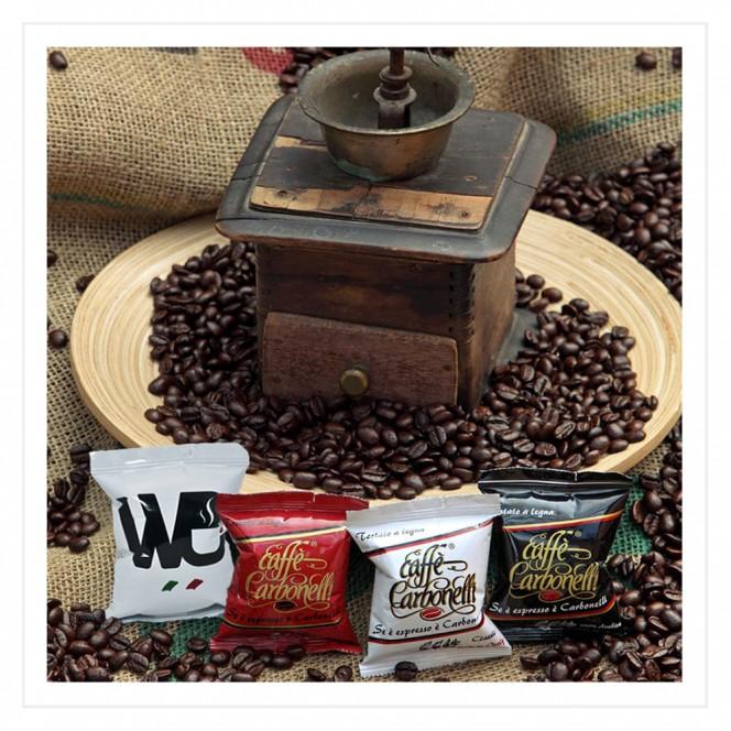 Lavazza Point Espresso Compatible Coffee Capsules Variety Pack Classic, Ristretto, 100% Arabica, We