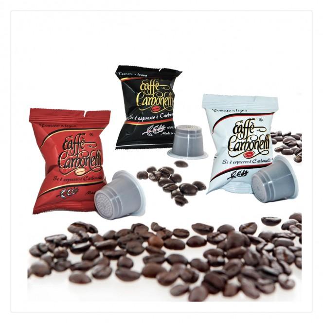 Nespresso Compatible Coffee Capsules Variety Pack Classico, Ristretto, Arabica