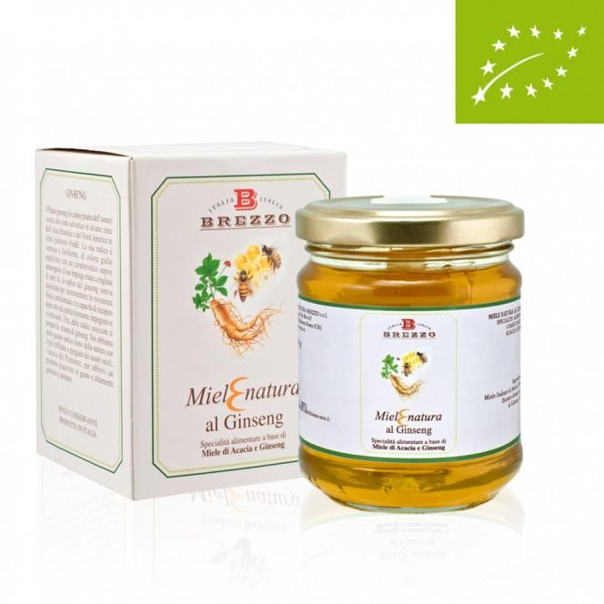 Acacia & Ginseng Organic Honey 250 Gr