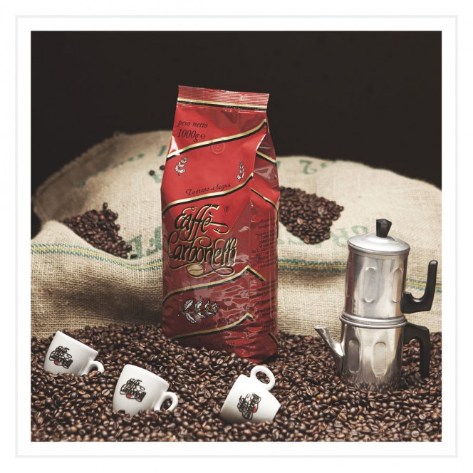 Santa Lucia Wood Fire Roasted Coffee Beans 1 Kg