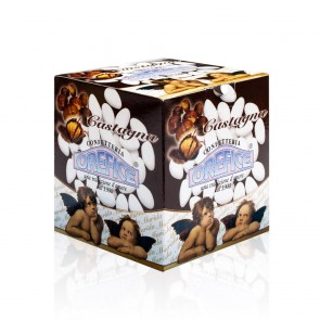 White Wedding Sugared Almonds Chestnut 500 Gr