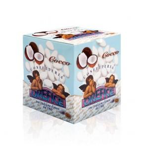 Coconut Sugared Almonds