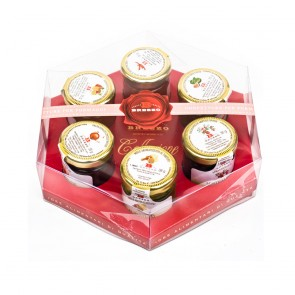 """""""Luxury Collections"""" 6 x Jams For Cheese Board"""