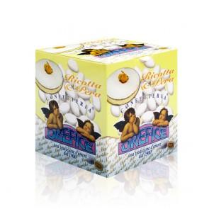Ricotta & Pear Cake Sugared Almonds