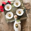 Italian Extra Virgin Olive Oil Ceramic Gift Set with Bowls